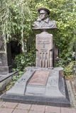 Novodevichye Cemetery. Grave to General Army Govorov. Moscow, Russia -September 10,2016: Novodevichye Cemetery. Grave to General Army Govorov Stock Photography