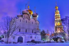 Novodevichyklooster Royalty-vrije Stock Fotografie