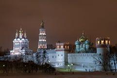 Novodevichyklooster - Moskou, Rusland royalty-vrije stock foto's