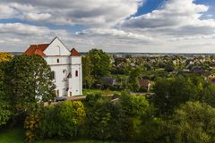 Catholic Church of the Transfiguration. Novogrudok. Belarus. royalty free stock images