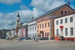 Novogrudok, Belarus,. View of the old architecture in Novogrudok, Belarus Royalty Free Stock Photography