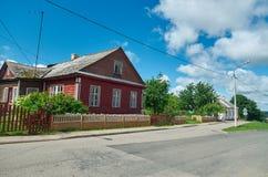 Novogrudok, Belarus,. View of the old architecture in Novogrudok, Belarus Stock Images