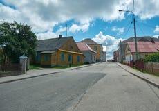 Novogrudok, Belarus,. View of the old architecture in Novogrudok, Belarus, 6 July 2017 Royalty Free Stock Images