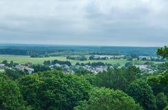Novogrudok, Belarus,. View of the old architecture in Novogrudok, Belarus, 6 July 2017 Royalty Free Stock Image