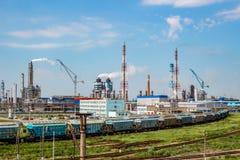 Novomoskovsk Ryssland - Juni 2015: `-Azot för kemisk växt `, royaltyfria foton