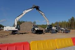 Excavators Royalty Free Stock Images