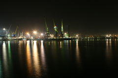 novorossiysk portu Fotografia Stock