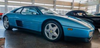 NOVOROSSIYSK ROSJA, LIPIEC, - 19, 2009: Ferrari 348 samochód przy wystawą Fotografia Royalty Free