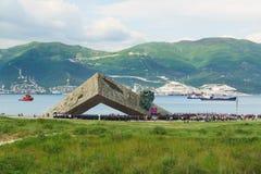 NOVOROSSIYSK ROSJA, MAJ, - 08 2016: pomnik Zdjęcie Stock