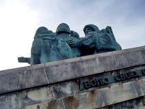 Novorossiysk, Rusland Herdenkings` Malaya Zemlya ` Marechausseeën 4 Februari, 1943 close-up Heldenstad van Novorossiysk royalty-vrije stock afbeelding