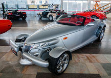 NOVOROSSIYSK, RUSSIA - JULY 19, 2009: Plymouth Prowler  at the car exhibition in Royalty Free Stock Photography