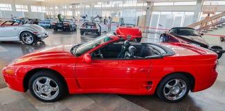 NOVOROSSIYSK, RUSSLAND - 19. JULI 2009: Auto Mitsubishis 3000 GT VR-4 Spyder an der Ausstellung in Novorossiysk, Russland Lizenzfreie Stockfotos
