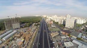Novoryazanskoe highway Stock Image