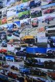 2018 novos vadeam veículos na exposição na feira automóvel internacional norte-americana Fotos de Stock