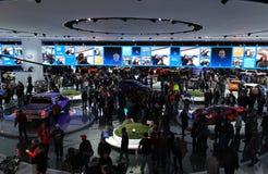 2018 novos vadeam veículos na exposição na feira automóvel internacional norte-americana Fotos de Stock Royalty Free