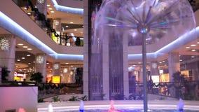 Novosibirsk Ρωσία 11 ΔΕΚΕΜΒΡΊΟΥ 2014 Αγορές απόθεμα βίντεο
