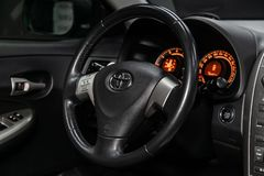 Novosibirsk, Ρωσία - 31 Μαΐου 2019: Toyota Corolla στοκ φωτογραφία