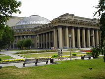 Novosibirsk big theater. Russia siberia. in front of the Novosibirsk Opera and Ballet Theater It Stock Image