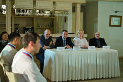 Novosibirsk Culinary World Cup team Stock Photography