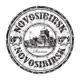 Novosibirsk grunge rubber stamp Stock Photo
