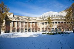 Novosibirsk opera Stock Photography