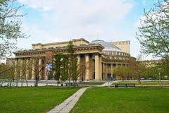 Novosibirsk Opera e teatro de bailado foto de stock