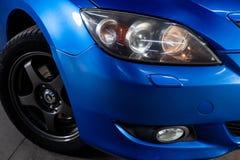 Novosibirsk, R?ssia - 31 de maio de 2019: Mazda 3 fotos de stock royalty free