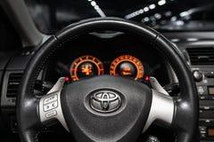 Novosibirsk Rosja, Maj, - 31, 2019: Toyota Corolla obraz stock