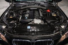 Novosibirsk, Rusia - 19 de febrero de 2019: BMW X5 fotos de archivo