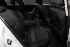 Novosibirsk, Rusland 14 Juni, 2019 Mazda 3 stock foto's