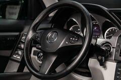 Novosibirsk, Rusland - Juni 04, 2019: Mercedes-Benz-GLK-Klasse 350 4matic stock fotografie