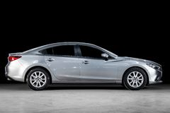Novosibirsk, Rusland - Maart 15, 2019: Mazda 6 royalty-vrije stock afbeeldingen
