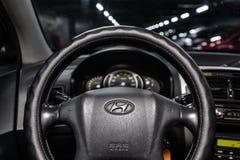 Novosibirsk, Rusland - Mei 15, 2019: Hyundai Tucson stock afbeelding