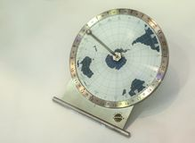 Sundial of equatorial type in Large Novosibirsk Planetarium is the largest astrophysical center beyond the Urals. Novosibirsk, Russia - August 10, 2013: Sundial Royalty Free Stock Image