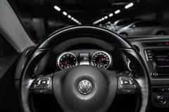 Novosibirsk, Russia - February 05, 2019: Volkswagen Tiguan stock images