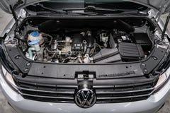 Novosibirsk, Russia 22 giugno 2019: Carrello di Volkswagen immagine stock libera da diritti