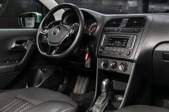 Novosibirsk, Russia 28 giugno 2019: Volkswagen Polo fotografia stock