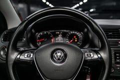 Novosibirsk, Russia 28 giugno 2019: Volkswagen Polo fotografie stock