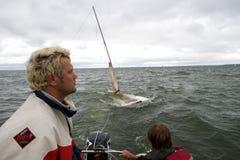 NOVOSIBIRSK,RUSSIA-JULY12:Sailing Regatta, Interregional competition Stock Images