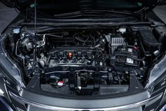 Novosibirsk, Russia - November 16, 2018: Honda CR-V royalty free stock image