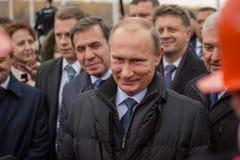 Novosibirsk, Russia - October 8, 2014: Vladimir Vladimirovich Pu Royalty Free Stock Image