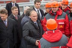 Novosibirsk, Russia - October 8, 2014: Vladimir Vladimirovich Pu Stock Image
