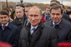 Novosibirsk, Russia - October 8, 2014: Vladimir Vladimirovich Pu Stock Photography