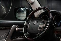 Novosibirsk, Russie - 30 janvier 2019 : Toyota Land Cruiser 200 image stock