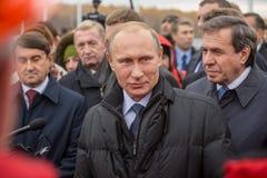Novosibirsk, Russie - 8 octobre 2014 : Vladimir Vladimirovich Pu photo libre de droits