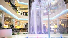 novosibirsk Ryssland 11 DECEMBER 2014 shopping arkivfilmer