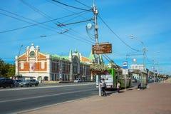 Novosibirsk stanu muzeum lokalna tradycja ludowa Novosibirsk, Syberia, Ru Obrazy Royalty Free