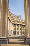 Novosibirsk state academic theatre of Opera and ballet. Novosibi Royalty Free Stock Images