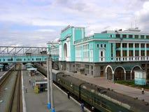 Novosibirsk trainstation Imágenes de archivo libres de regalías