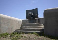 Novosiltsevskaya coast battery in Vladivostok fortress. Russian island. Russia Stock Image